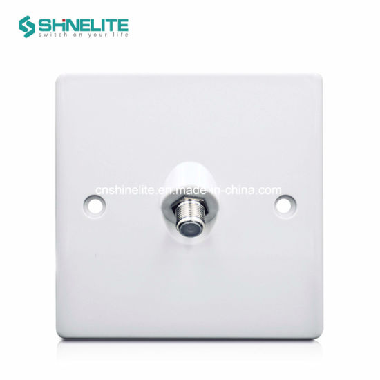 Good Quality Single Satellite Wall Socket Outlet OEM