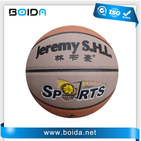 Promotional Waterproof PU PVC TPU Sport Rubber Basketball (B88730) pictures & photos