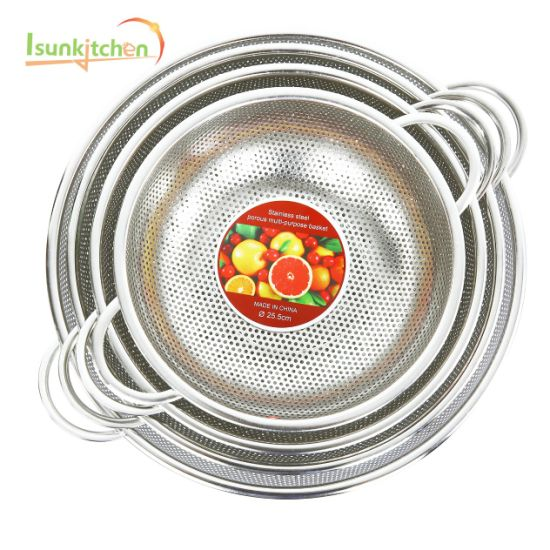 Stainless Steel Baskets Strainer Cookware