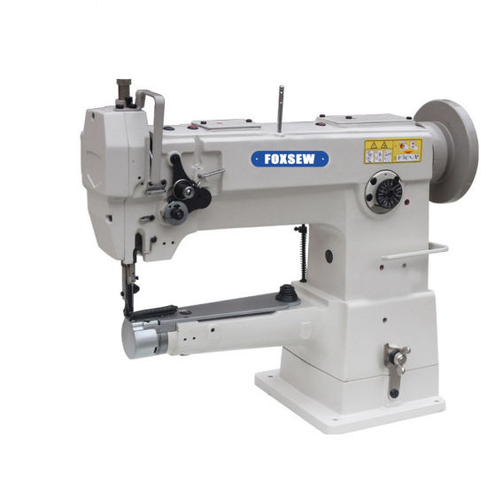 Single Needle Cylinder Bed Unison Feed Heavy Duty Leather Sewing Machine