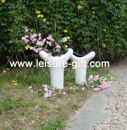 China Fo 8904 Garden Ceramic Flower Vase China Flower Vase