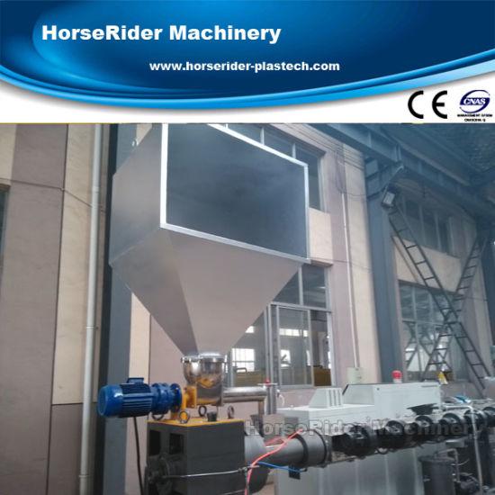 PE Plastic Film Pelletizing Machine with Ce/ISO Certification