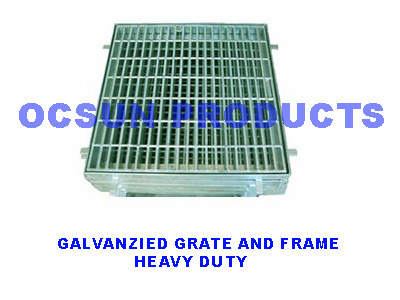 Galvanzied Grates and Frames Heavy Duty