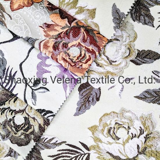 100%Polyester Jacquard Gblan Dyed Textile Upholstery Home Textile for Wholesale Curtain Cushion Fabric