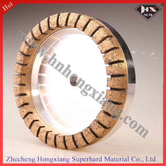 Metal Diamond Cup Grinding Wheel for Glass Edging pictures & photos