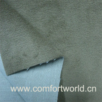 Etched-out Super Soft Velour with T/C Back