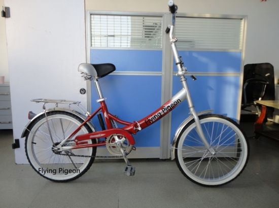 Russia Market Rear Coaster Brake Folding Bike (FP-FDB-D004) pictures & photos