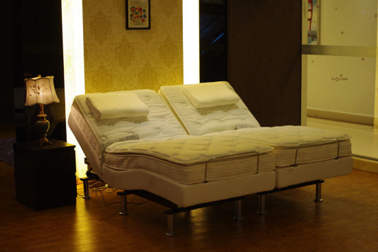 Bedroom Furniture Electric Adjustable Bed pictures & photos