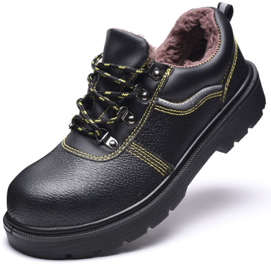 Full Grain Leather or Cow Split Leather Safety Shoes pictures & photos