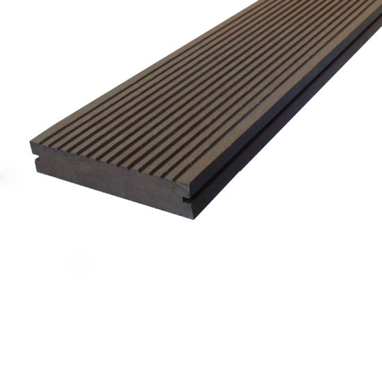 146*31mm Wood Plastic Composite Solid Decking with CE, Fsg SGS, Certificate
