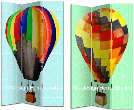 China Colorful Design Living Room Canvas and Wooden Printing