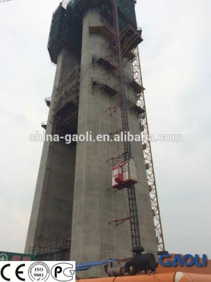 Warehouse Cargo Freight Construction Elevator/ Hoist/Lift (SC200/200) with Competitive Price pictures & photos