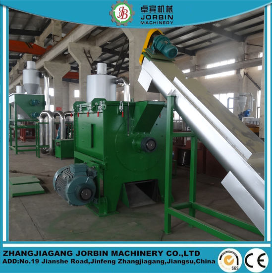 Plastic HDPE Chips Pet Flakes Recycling Machine