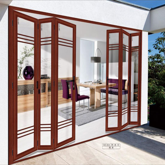China Aluminum Glass Cheap Accordion Doors Prices In Egypt Wholesale
