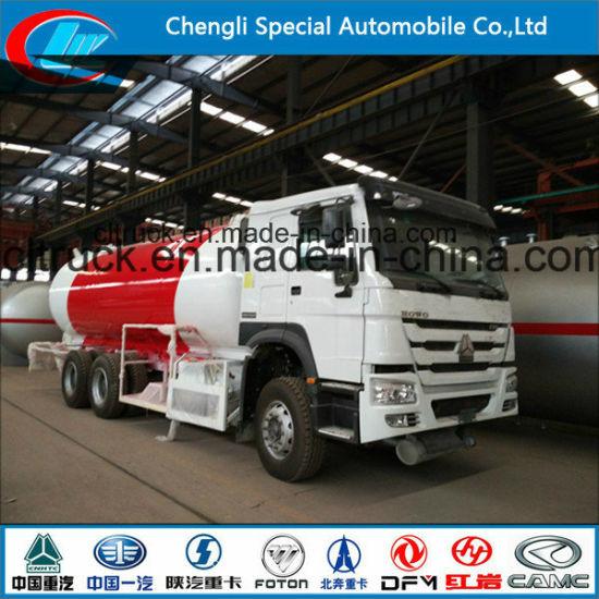 Factory ASME Standard 5500 Liters 5cbm LPG Bobtail LPG Dispenser Truck LPG Cylinder Truck for Cylinder Filling