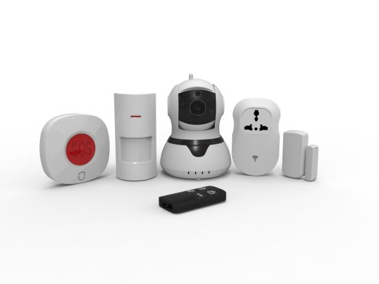 Wireless IP Camera Alarm System Support 64 Wireless Zones
