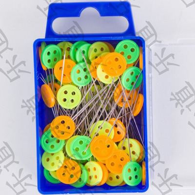 Candy-Colored Positioning Pin DIY Hand Tools Positioning Pin Wedding Needle 100PCS/Box pictures & photos
