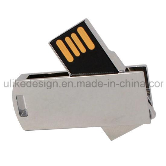 USB 2.0 Flash Disk/Swivel/Twist Metal /Memory Flash Drive/Customized USB Pen Drive