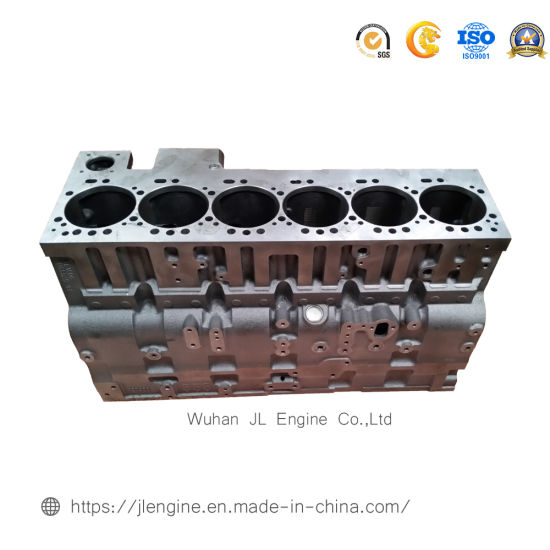 6CT Cylinder Block 3939313 for Construction Machinery Diesel Engine Parts