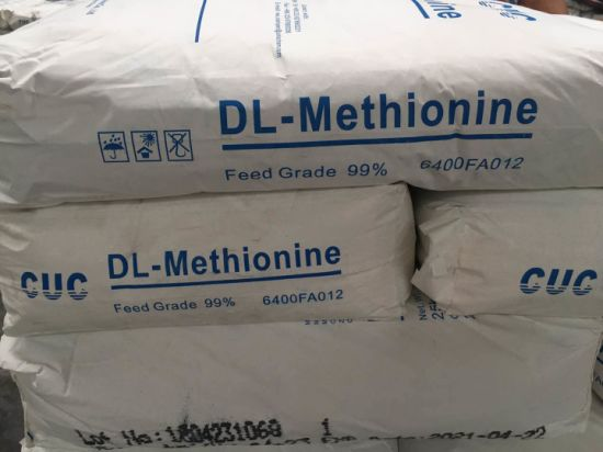 Warehouse Dl-Methionine 99%Min Feed Grade Certificated Fami-QS pictures & photos
