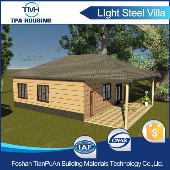 Prefab Home Kit in Steel Structure Shed Design pictures & photos