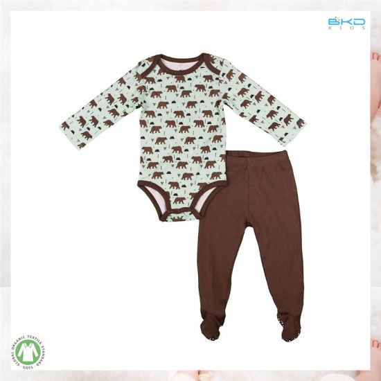High Quality Baby Wear 2PCS Newborn Clothes Set