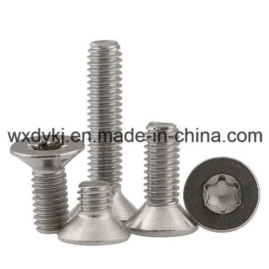 Torx Drive Stainless Steel 304 Countersunk Head Machine Screw