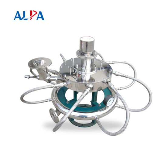 Jet Mill, Mqp Series/Ultrafine Powder Mill/150um-2um/Chemical Grade External Airflow Buffer/Medical Grade Built-in Airflow Buffer