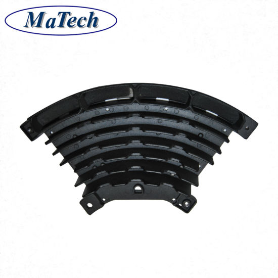 Manufacturing Radiator Cooling Fin Heatsink Aluminum Die Cast Part