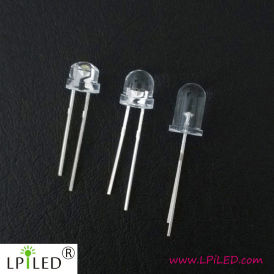 3V 7-9lm Lamp LED 5mm DIP for Illumination pictures & photos