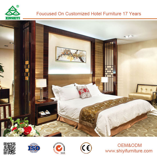 European Style Luxurious Five Star Hotel Bedroom Furniture Set 5 Star
