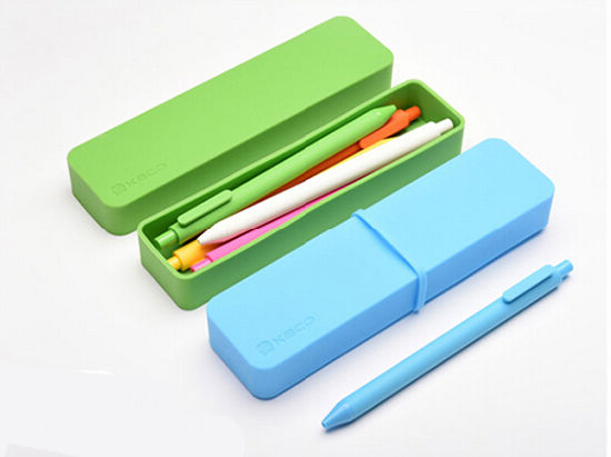 Creative Durable Offices and Schools Candy Color Stationery Silicone Pen & Pencil Cases pictures & photos