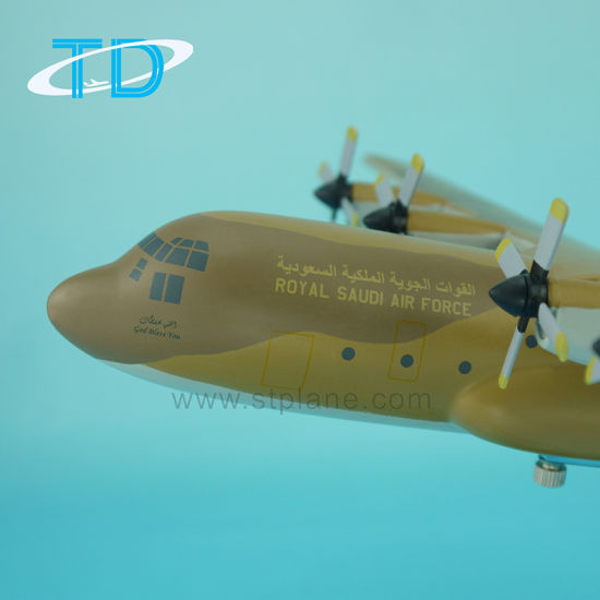 1: 100 Lockheed C-130 Hercules Military Model Aircraft pictures & photos