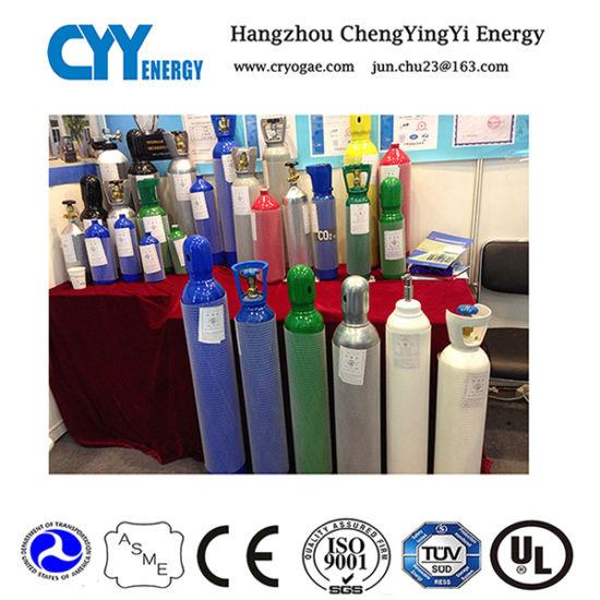 Liquid Oxygen Nitrogen Argon CO2 LNG Seamless Steel Gas Cylinder