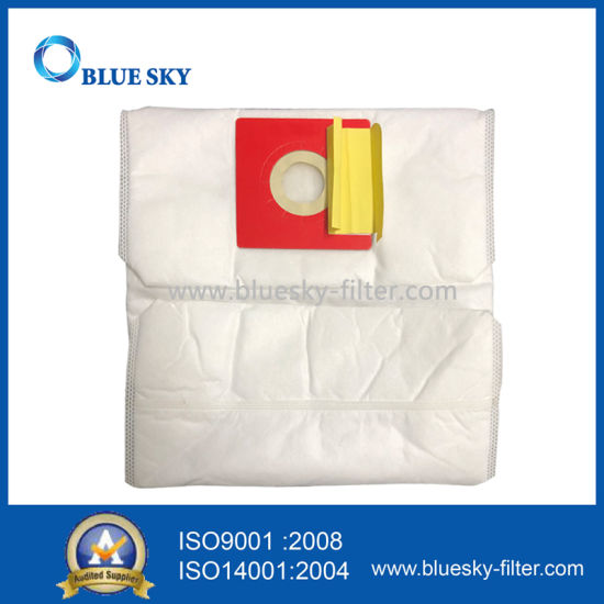 White Cube HEPA Filter Bags for Vacuum Cleaner