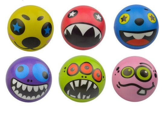 Promotional Customized Logo Funny Expression Anti Stress Ball pictures & photos