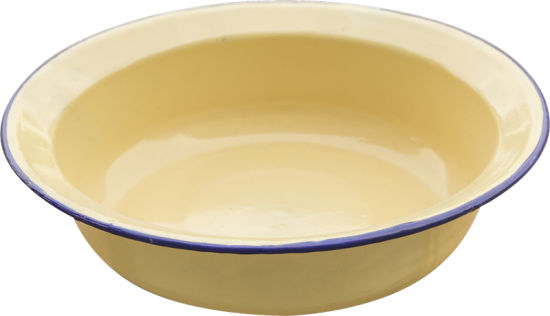 Hight Quality Enamel Side Dish Basin for Daily Use pictures & photos