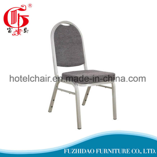 Restaurant Stackable Aluminum Banquet Chairs in Foshan pictures & photos