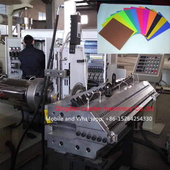 PP PE PS HIPS Sheet Extrusion Machine pictures & photos
