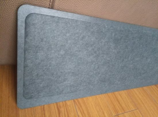 SGS Certified Pet Acoustic Screen, Soundproof Polyester Acoustic Panel for Office Desk pictures & photos