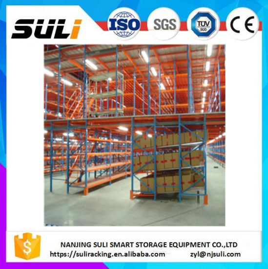 Storage Carton Flow Pallet Rack with roller Track pictures & photos