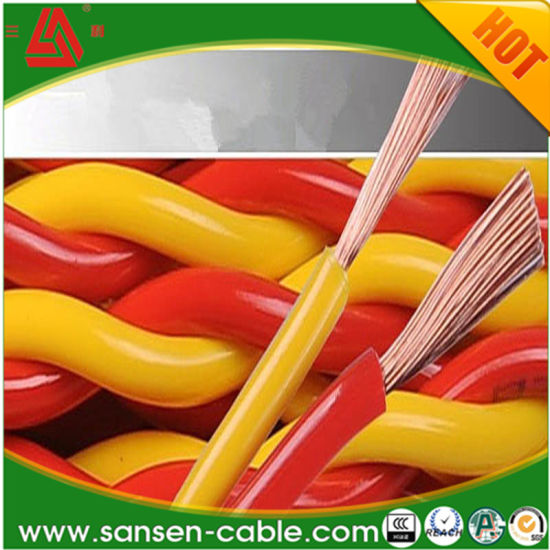 House Electrical Wiring Rvs 2 X 1mm Stranded Wire Decoration Materials Electric Cable Sizes and Electric Wire Price Copper Cable pictures & photos