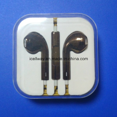 Noise Cancelling Earbud Stereo Earphone Earbuds with Mic pictures & photos