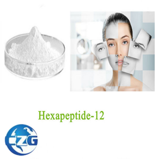 Raw Powder Polypeptides Palmitoyl Hexapeptide-12 for Anti-Wrinkle pictures & photos
