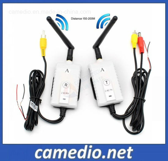 2.4GHz Wireless 200m Range Truck Camera Video Transmitter and Receiver