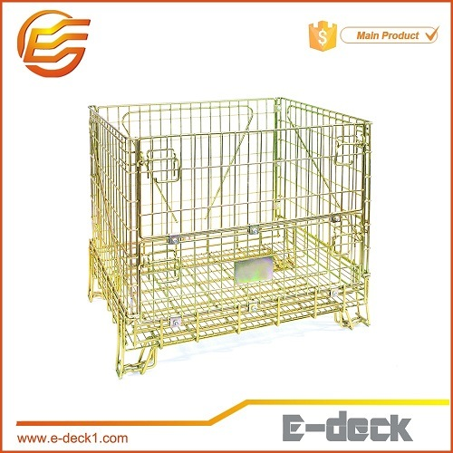 E-Deck Industrial Stackable Storage Mesh Wire Container pictures & photos