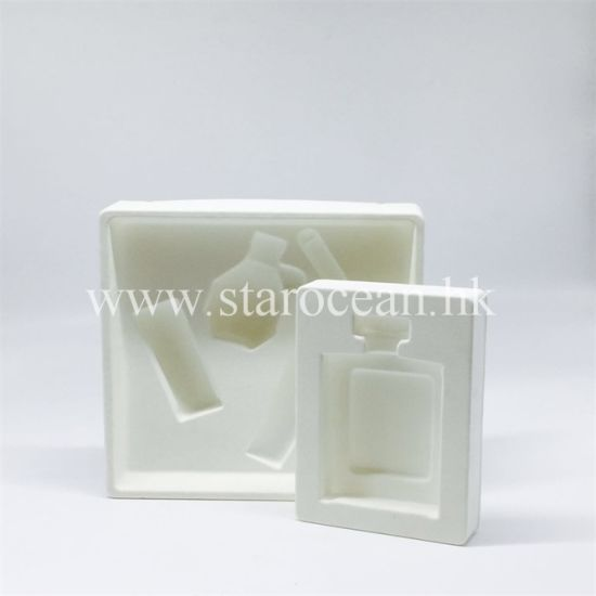 Plastic Blister Packaging in White Tray