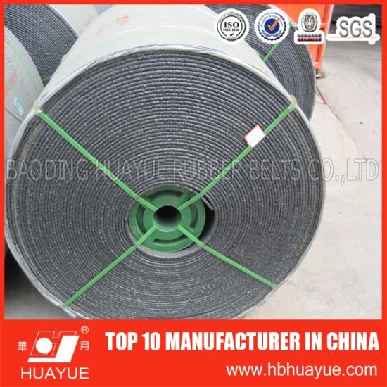 Quality Assured High Tenacity and Hightly Stretchable Nn Nylon Rubber Conveyor Belt pictures & photos
