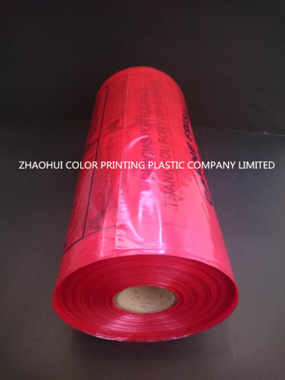 LDPE Meat Packaging Bags on Roll / Plastic Bag on Roll