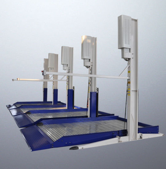 Hydraulic Two Post Parking Lift with Electric Unlock